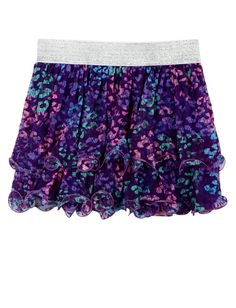 Animal Ruffle Skirt | Skirts & Skorts | Clothes | Shop Justice! Would wear on a hot summer day! Too cute! I want!