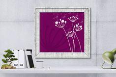 Dandelions PrintDandelion Digital by HappyartWorkshop on Etsy