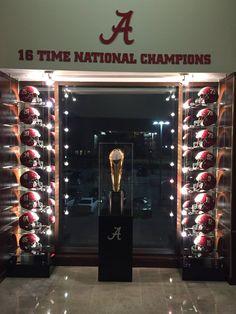 Alabama Crimson Tide Football - 16 National Championships!