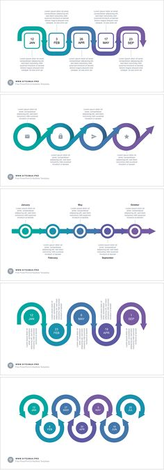 Iosppt pptstore power point pinterest timeline arrow ppt type 2 for powerpoint template get it free toneelgroepblik Images