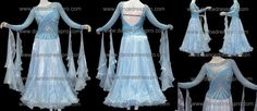 Modern dance dress model no. 2203