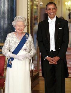 Queen & President  So damn cute!!