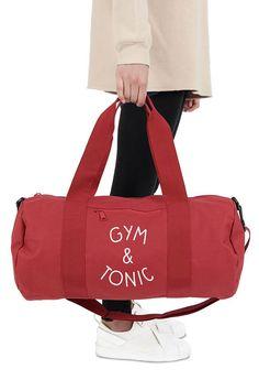 Spin Hair Don/'t Care Tote Shoulder Bag Handbag Funny Slogan Canvas Fitness Yoga