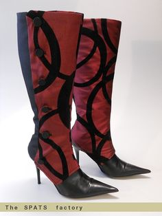 omg! i may never need to buy boots again..... spats are rocking my world!!!