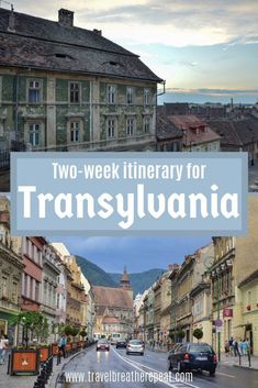 Inspiration for places to visit in Romania including Cluj-Napoca, Sighisoara, Brasov, Sibiu, and Oradea. One and two week Transylvania itinerary ideas. Backpacking Europe, Europe Travel Tips, Travel Destinations, Budget Travel, Travelling Europe, Traveling, Travel Guide, European Destination, European Travel