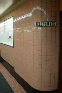 Degraves Street underpass. Flinders Street Station, Melbourne.