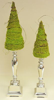 D.I.Y. Decorative Moss Tree