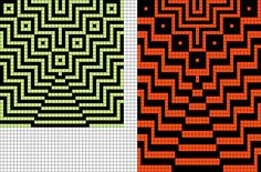 Artwork by at Grid Paint. Tapestry Crochet Patterns, Mosaic Patterns, Loom Patterns, Painting Patterns, Beading Patterns, Quilt Patterns, Beaded Cross Stitch, Cross Stitch Embroidery, Cross Stitch Patterns