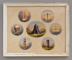 Independent Order of Odd Fellows Tracing Board