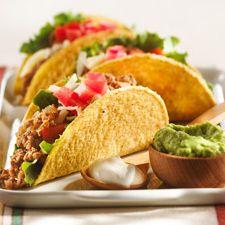 Tacos with turkey