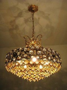 Aga518 used gold plated 16 light gothic chandelier vintage danish aga518 used gold plated 16 light gothic chandelier vintage danish 1960s ebay lighting pinterest gothic chandelier danish and chandeliers aloadofball Image collections