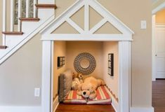 Dream home has a built in doggy room