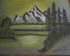 paintings by e. fatta | Winter Art by Dr. E. Foma Fatta