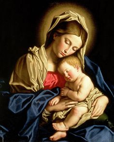 Madonna and Child Painting - Madonna and Child Fine Art Print