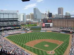 Baltimore Orioles Camden Yards. Checked off the my bucket list item of seeing every MLB stadium in the US.