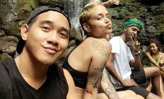 Keith Champaco,  Kehlani & Edward in Hawaii April 2016