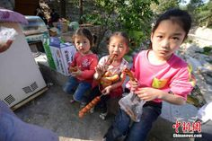 """Precious Memory of a Village - Zhujiayu: Zhujiayu, a village surrounded by mountains, is located in Zhangqiu, western Shandong province. Because of the well-preserved ancient village style of the Ming (1368-1644) and Qing (1644 - 1911) dynasties, Zhujiayu was selected as a setting in the TV series """"Chuang Kuantung""""."""