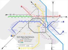 Embora o #Metro #Delhi não seja o primeiro construído na Índia, pode-se dizer que é o primeiro de seu tipo no país. A rede de metrô já cobriu quase toda a cidade e continua a se expandir. Prevê-se que a maioria dos bairros e subúrbios serão cobertos pelo serviço de metrô até 2020. Este sistema de trânsito rápido serve as cidades de Delhi, Gurgaon, Noida e Ghaziabad, e transporta 1,8 milhões de passageiros por dia.