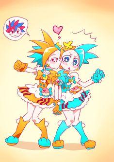 Kamen Rider Ex Aid, Kamen Rider Zi O, Kamen Rider Series, Slayer Meme, Iron Man Wallpaper, Miss Kobayashi's Dragon Maid, Anime Crossover, Awesome Anime, Magical Girl