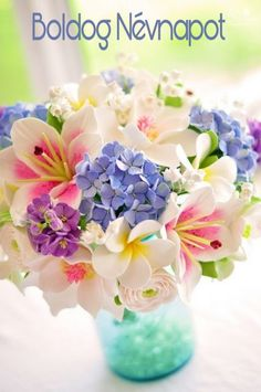 "screams ""Spring"" to me. pastel color flowers could easily be a bouquet!"