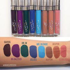 More Swatches of the New ColourPop Ultra Matte Liquid Lipsticks!