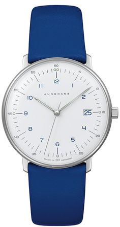 965d7d8a8 Max Bill Ladies Quartz Matte-White Dial Date Numerals by Junghans  047/4540.00