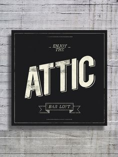 Attic Bar Loft on Behance