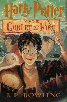 Harry Potter And The Goblet Of Fire Book By J K Rowling