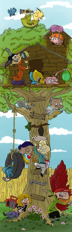 Tree Fort by Jazzekat on DeviantArt
