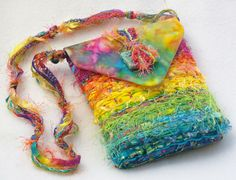 Bright Batik Purse