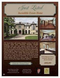 Gift Giving- Real Estate Flyer Sample | Zip Your Flyer | Real ...