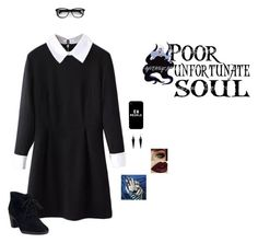 """""""My Heart Is A Ghost Town"""" by hanakdudley ❤ liked on Polyvore featuring mode, Clarks, Disney et Oasis"""