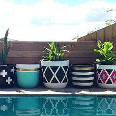 By the bed...by the tv...by the door... by the pool - out pots can go ANYWHERE!!!