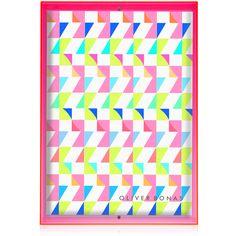 Buy Yellow Acrylic Neon Block Wall Frame from Oliver Bonas