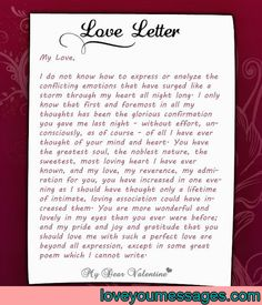 Looking at love letters and how they are full of truth emotions deep love letters for her deep love letter letters her spiritdancerdesigns Images