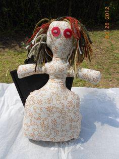 Goddess Doll. $8.00, via Etsy.