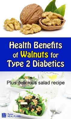 Health Benefits of Walnuts for T2 Diabetes