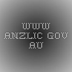 www.anzlic.gov.au