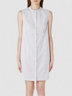 SHIRT - DRESS, White