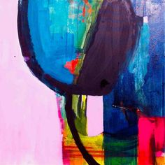 Aerial View and Pink Gate by ali mcnabney-stevens. POA from Julia at julia@greenhouseinteriors.com.au