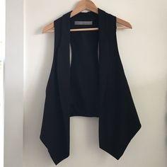 Zara Black vest Zara basic vest in black Zara Jackets & Coats Vests