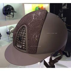 KEP Brown Brokade Helmet