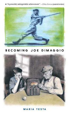 It's 1936, and the Yankees have just hired a star center fielder whose name sounds like music. What could be a better time for Papa-Angelo's grandson to be born? Christened after the legendary ballplayer, young Joseph Paul learns much at his Italian grandfather's knee -- about holding your breath in front of the radio during a 3-2 count with the bases loaded and having the audacity to dream big dreams. PB 9780763624446 Ages 10-14,  GRL T