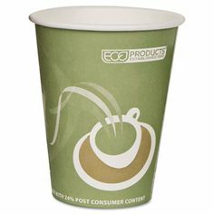 Eco-Products Evolution World 24% PCF Hot Drink Cups - Evolution World 24% PCF Hot Drink Cups, Sea Green, 12 oz., 50/Pack by Eco-Products. $12.81. Evolution World 24% PCF Hot Drink Cups, Sea Green, 12 oz., 50/Pack