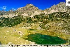 Lac de Coueyla-Gran, Aygues-Cluses (France, Midi-Pyrénées, Hautes-Pyrénées)