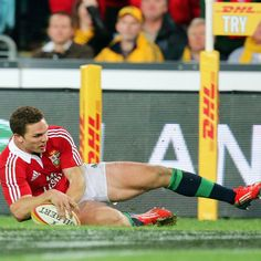 A terrific counter attack from Leigh Halfpenny set up George North for another Lions try just seven minutes later Rugby, Of My Life, Lions, Passion, Counter, Sports, Hs Sports, Lion, Sport