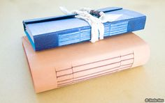 Longstitch Bookbinding Tutorial for a Leather Journal by Linda Tieu. Good instructions, lots of pictures.