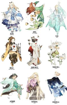 Kimono Disney Princess Art would be stunning as Cosplay - . - Kimono Disney Princess Art would be stunning as a cosplay – - Cute Disney, Disney Princess Anime, Character Art, Disney Princess Drawings, Anime, Cartoon, Cute Drawings, Princess Art, Disney Animation
