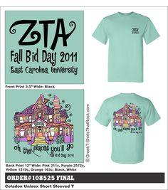 Zeta Tau Alpha Bid Day  http://www.greekt-shirtsthatrock.com/