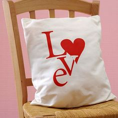 Love Pillow......Unique DIY Gifts for Valentines day....#gift #valentine #holiday #celebration #romantic #handmade
